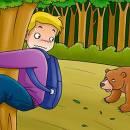 Путники и медведь