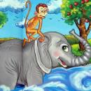 Слон и обезьяна
