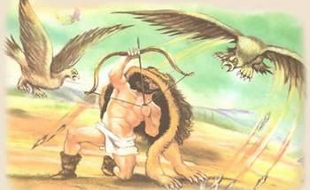 скачать миф о геракле где он поражает стимфалийских птиц