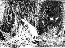 Снифф дрожащими лапами принялся собирать искристые камни