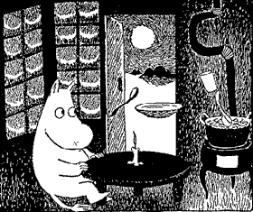 Муми-тролль тарелка ложка