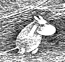 Муми-тролль буря сильный ветер