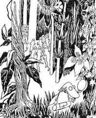 Хемуль вышел на поляну хатифнаттов