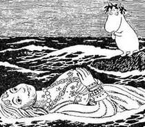 Фрекен Снорк  и деревянная женщина