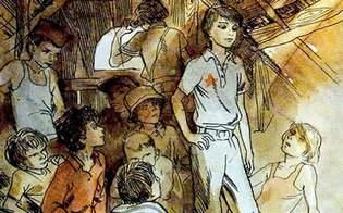 Краткое содержание гайдар тимур и его команда для читательского.